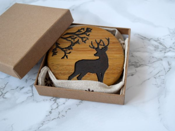 Woodland Stag Compact Mirror