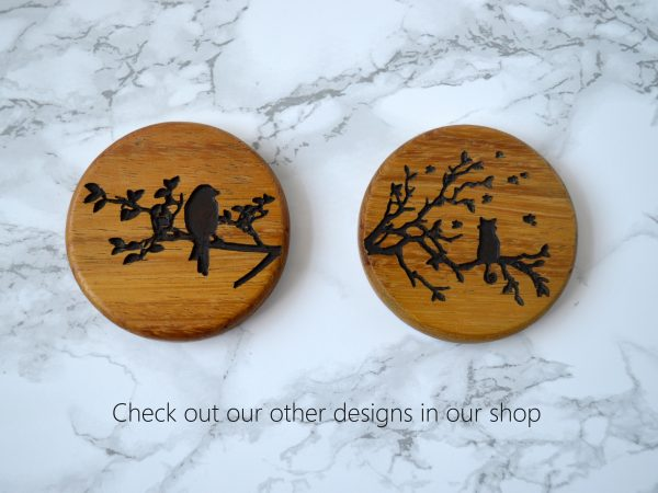 Woodland Stag Compact Mirror other designs