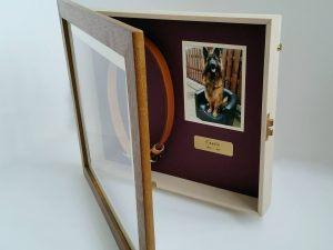 Pet Memorial Shadow Box Frame | Iroko