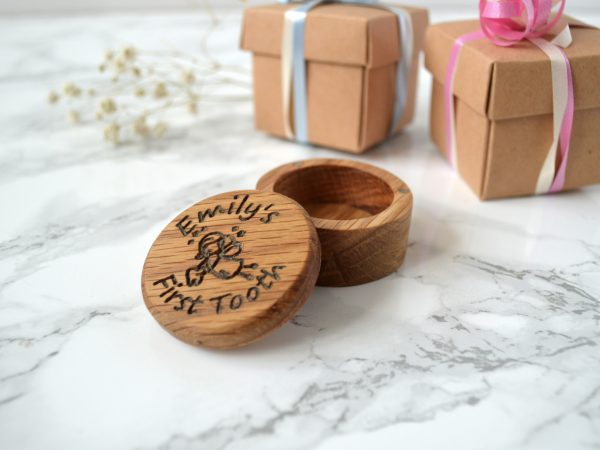 Personalised Tooth Fairy Box