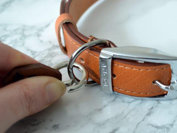 Pet tag open clasp